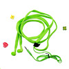 electronic gadgets fashion shoelace design earbuds packed in gift box