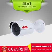 The latest HD Bullet 4in1 hybrid outdoor camera,2MP 1080P resolution 3.6mm fixed HD lens, 30m IR distance waterproof CCTV camera