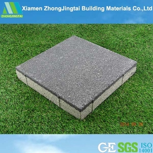 2015 Cheap granite stone driveway recycled rubber pavers