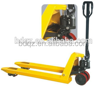 1T Hydraulic Hand Pallet Truck / competitive price and high quality