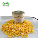 Chinese natural food vacuum canned sweet corn