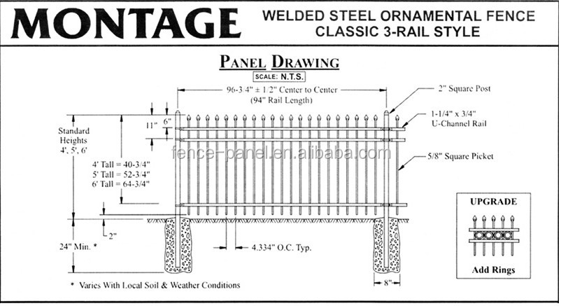 Hot Sale Cheap New Design Pvc Painted Iron Bar Fence Buy