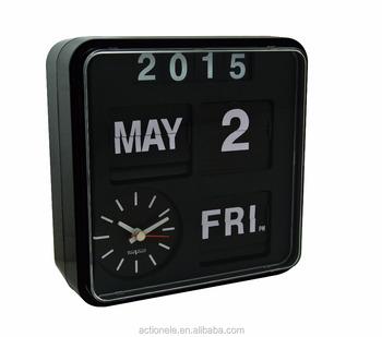 Pared Calandar Barrido Product Auto Con 1688 reloj Buy Y Calendario Jumbo reloj Reloj Movimientos Automático On Flip Flip zLqMpGjSUV