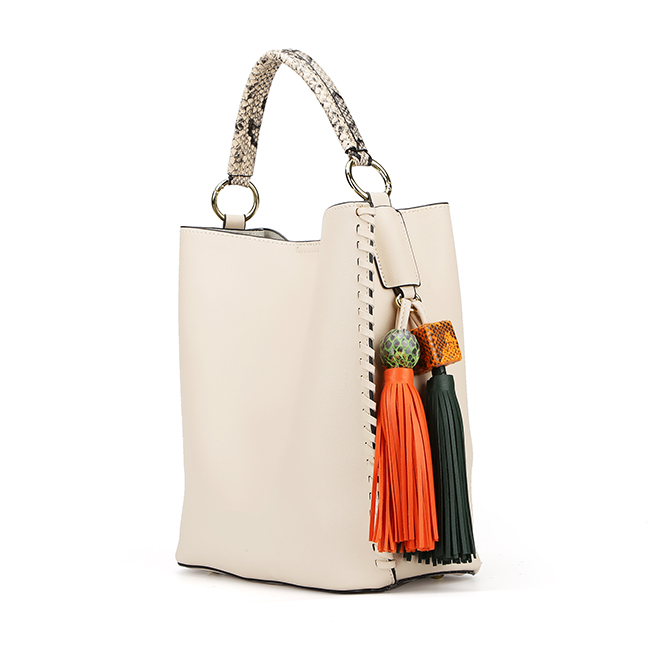 7432- High quality PU shoulder shopper designer ladies hobo handbags with individual bag