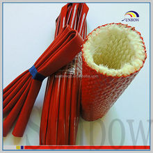 iso 9001-2008 standard ul certification flexible flame retardant eco-friendly high temperature glass fiber fireproof pipe