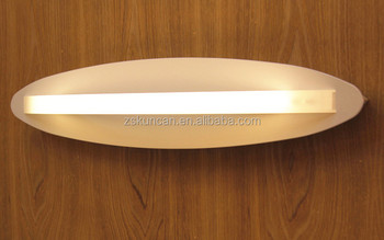 Contemporary Simple Design White Acrylic Led Wall Sconce