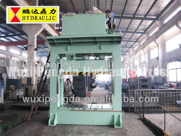 H frame type hydraulic press YP96