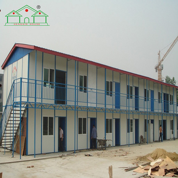 Customized multi-storey labor camp prefab house for sale
