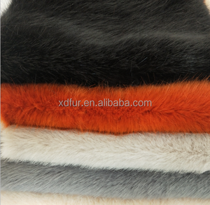 100% polyester fake fur fabric factory directly wholesale faux fox fur,fake fox fur,soft faux fur fabric for garment