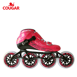 Carbon fibre champion roller wheels professional skates speed skates for competition racing inline speed skates
