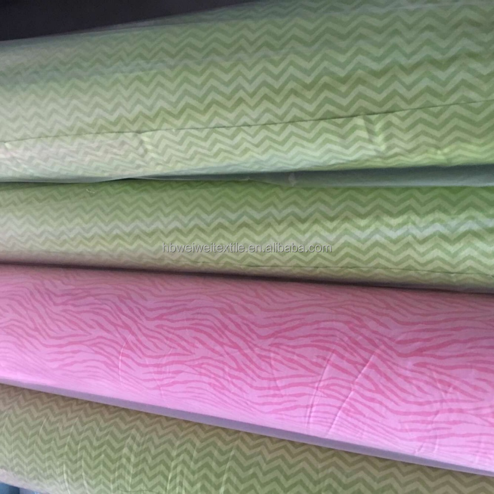 Factory and High-grade cheap reactive printed 100% cotton brushed flannel fabric stocklot in china
