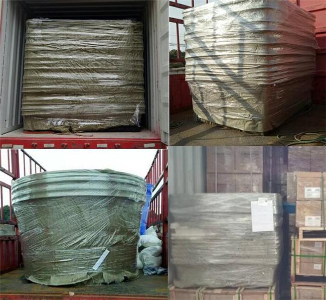 Professionele fabriek vierkante open top bad 100 gallon plastic vis tank voor water opslag