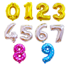 Customized Number Balloons 32inch Helium Birthday Balloons Foil Mylar Digital Balloons for Birthday Engagement Wedding Bridal