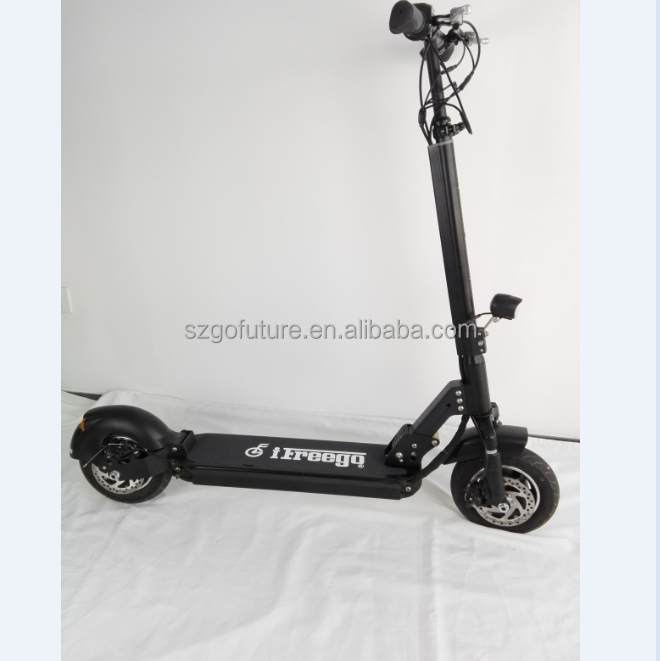 10 inch wheel 1000w motors Lg battery electric scooter with dual suspension