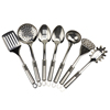 Best quality multifunctional 7pcs stainless steel cooking set metal kitchen utensils