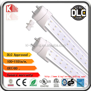 LED Tube bulbs 120VAC T8 4ft 18w etl/dlc Shenzhen factory Kingliming