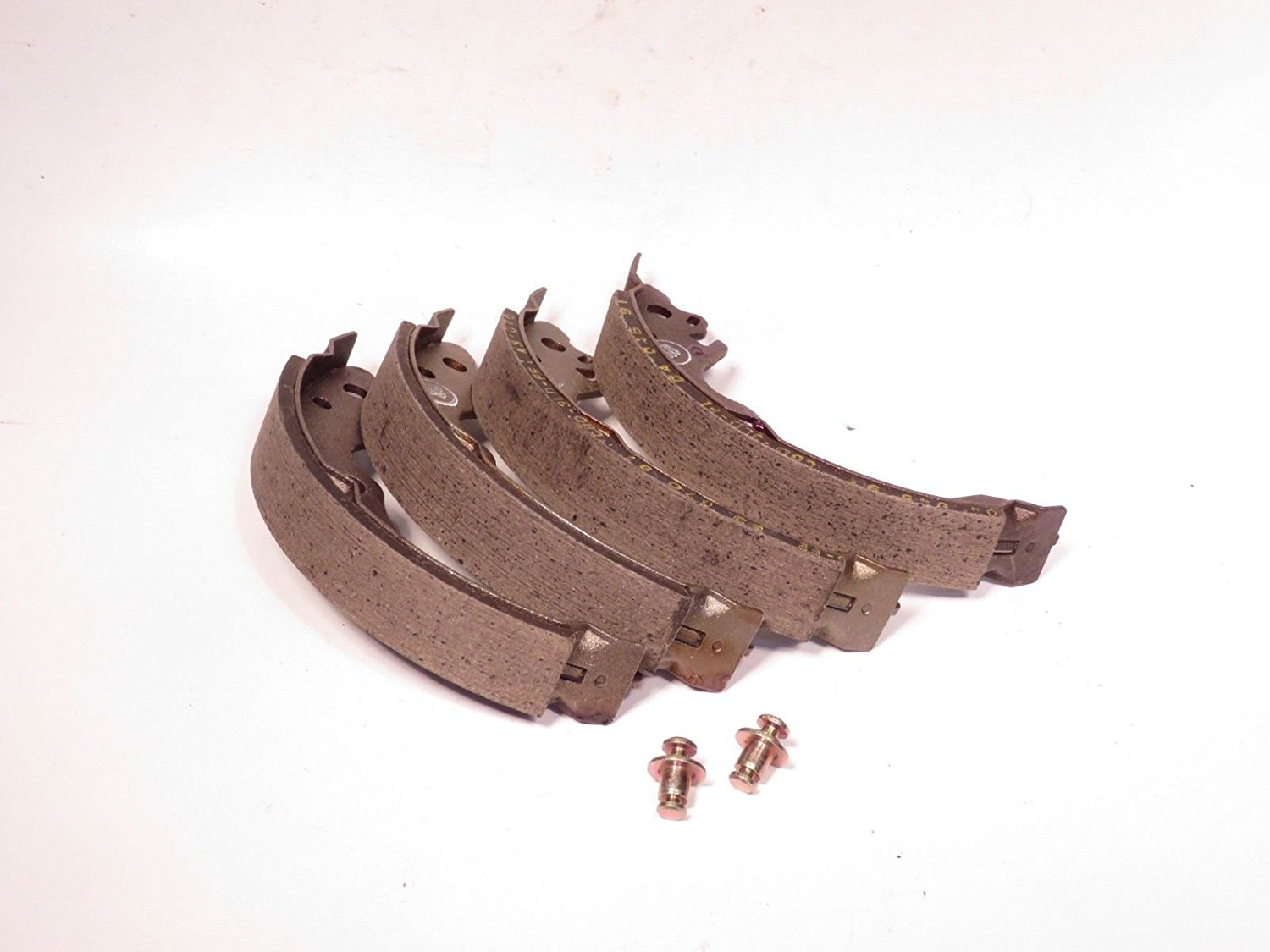 get quotations � wagner brake shoe set rear fits chevy spectrum isuzu  i-mark & pontiac sunburst