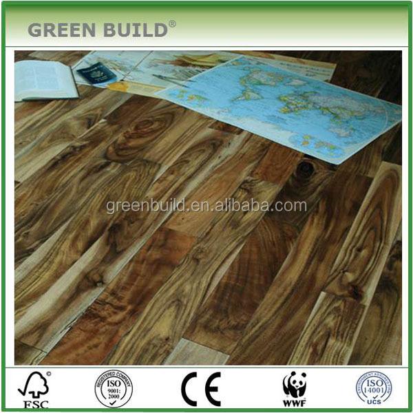 capa de cepillado piso de ingeniera real tarima