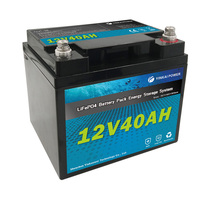 Replacement lifepo4 battery pack 12V 35Ah sealed lead acid for solar energy system/UAV/power tool