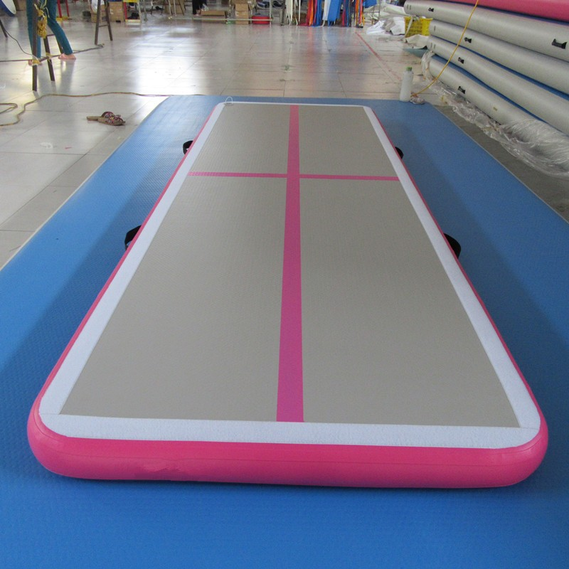mat gym arrival from floor track mats inflatable gymnastics air trampoline tumbling for sports tumble in item new home