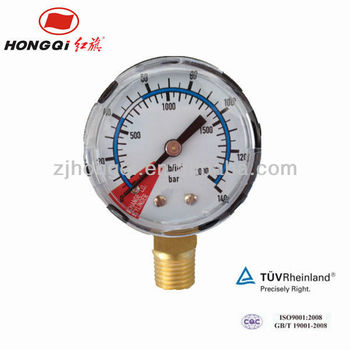"Y40 1.5""CO2 bottom gas pressure manometer"