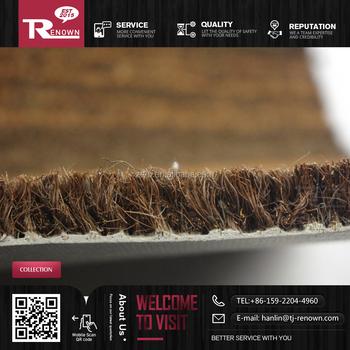 Coir Material Plain Coco Door Mat Roll Coir Mat