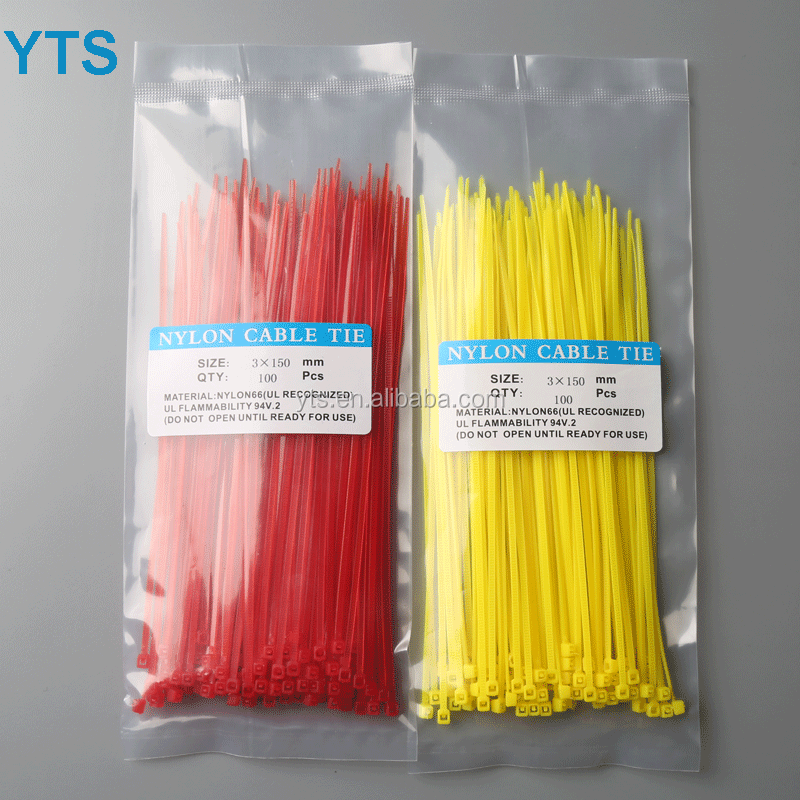 Self locking Nylon cable tie 2.5*100mm plastic zip tie 100mm 4 inch long 2.5mm wide