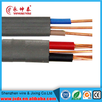Solid/stranded Copper Conductor Electric/eletrical Wire Nm-b Romex ...