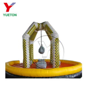 Zhengzhou Yueton Amazing Game Inflatable Wrecking Ball For Four Player