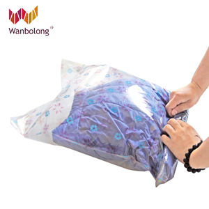 2017 new style roll up vacuum storage bag for travel