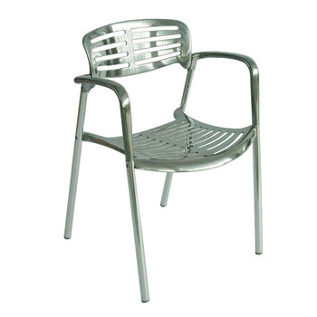 Knoll Outdoor Stacking Chair Jorge Pensi Toledo Chair Aluminum Stacking  Dining Chair