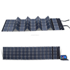 newest high quality 180W sunpower folding solar panel charger bag for car battery