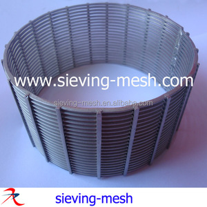 China All Welded Cylindrical Johnson Screen Filters, Ss Wedge Wire Screens