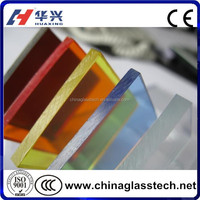 Dark Green Dark Blue Brown Color 5mm Stained Glass Product