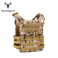 Light weight military armored combat bulletproof tactical plate carrier vest