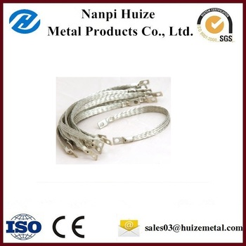Copper Ground Strap Tinned Copper Strip earthing copper strip