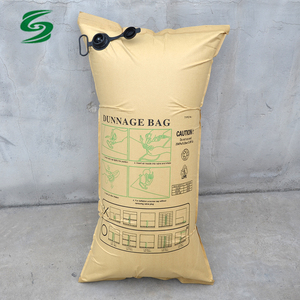 Container Brown Kraft Paper Dunnage AirBags for Loading Transportation