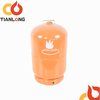 5kg household composite lpg gas cylinder with valve for camping