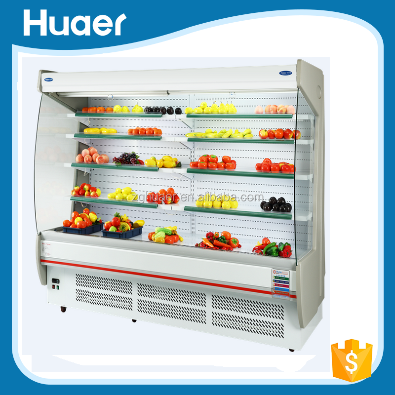 Commercial Open Air Cutain Display Freezer