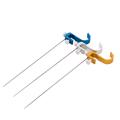 1Pc Fly Fishing Tackle Titanium Alloy Hook Detacher Fishhook Decoupling Device Stainless Steel Head Part Color