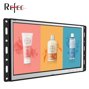Refee 10.1 inch Battery powered Open Frame Lcd Monitor, Frameless Lcd screen for POP display
