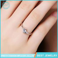 Vogue Jewelry 18K White Gold Engagement Ring, Wedding Ring, Diamond Ring