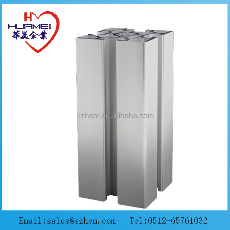 aluminum extrusions 6060WD136 aluminium section aluminium extrusion manufacturer