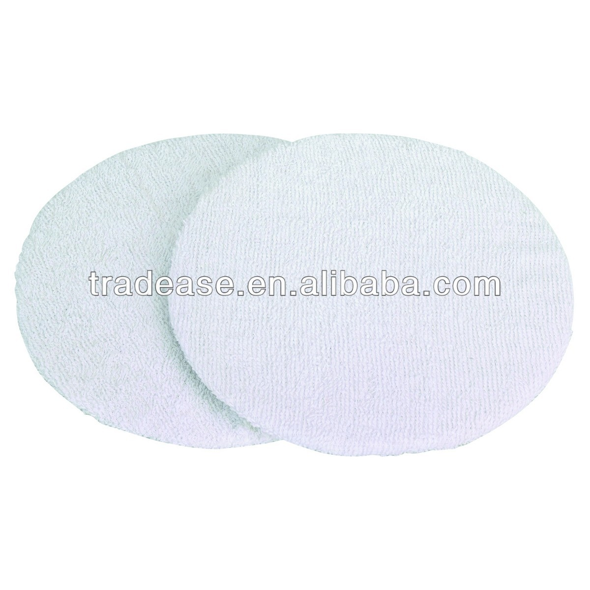 2 Piece 7 In. To 8 In. Terry Cloth Bonnets car polishing bonnet wool polishing bonnet