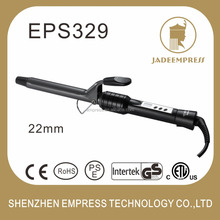 Worldwide dual voltage ceramic hair curling iron different types of hair curlers EPS329