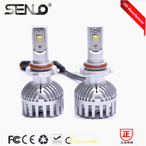 2016 New top power no error automotive car vehicle led Headlight 9005 9006 HB3 HB4 HID white 6000k 6000LM for honda audi mazda