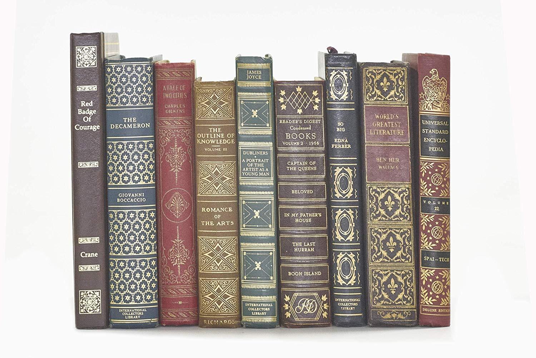 Decorative Books for Designers Classic Embossed
