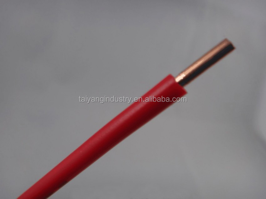 Solid Conductor Pvc Insulated Single Core Wire 4mm Electrical Wire ...
