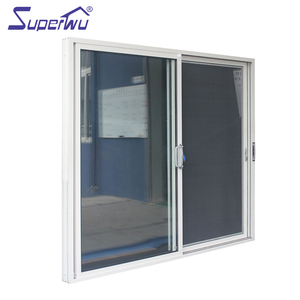 Double glazed aluminum tinted fire rated sliding glass doors for toilet prices