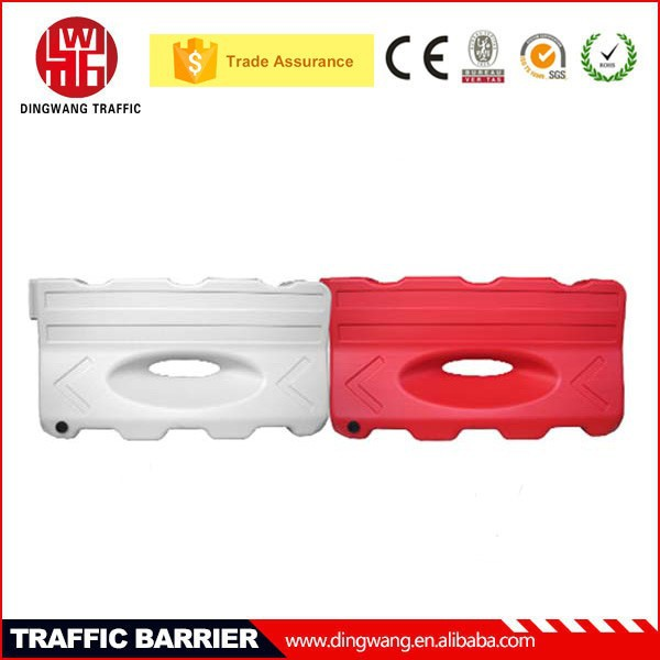 Plastic Water filled precast Traffic safety used in Airport Barricades